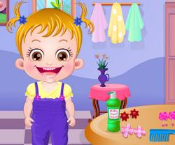 Игры для девочек малышка Хейзел