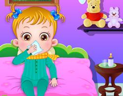 Малышка Хейзел заболела