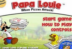 Папа Луи: Атака Пиццы