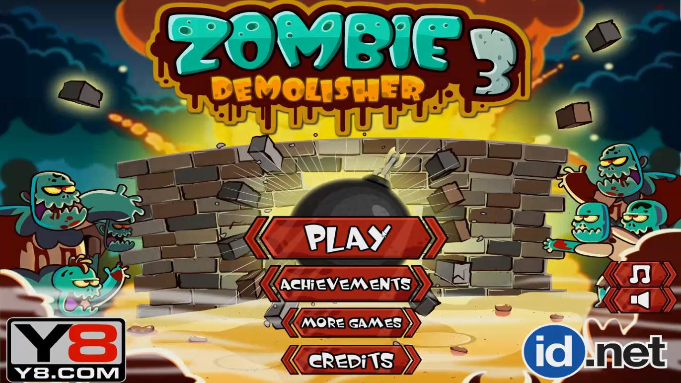 Зомби разрушитель 3
