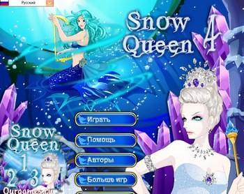 играть онлайн снежная королева