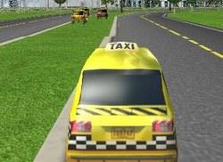 Гонки на такси 3д