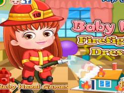 Малышка Хейзел пожарный