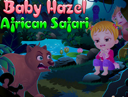 Малышка Хейзел на африканском Сафари