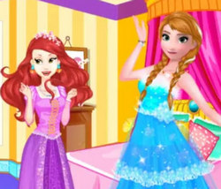 Принцессы Диснея: Модная битва Анны и Ариэль