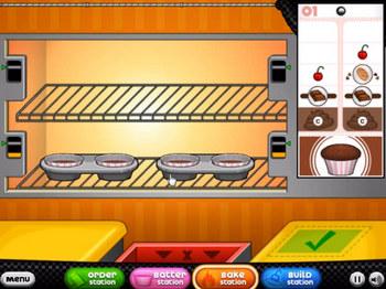 Кухня сары кафе папы луи прохождение игры