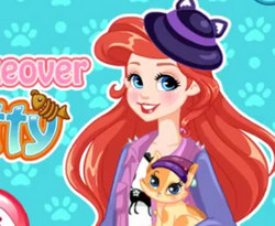 Ариэль и ее кошка