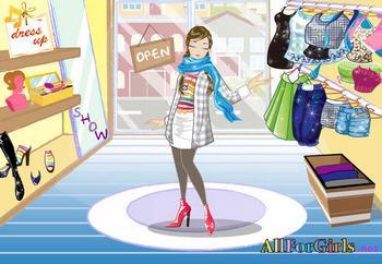 Девочку одевать играть онлайн