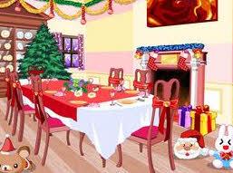 Комната на Рождество
