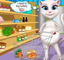 Покупки беременной Анжелы