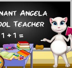Беременная Анжела: Школьный учитель