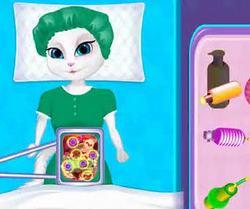 Анжела в больнице