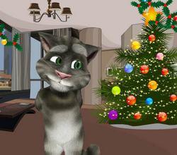 Говорящий кот Том: Новый год
