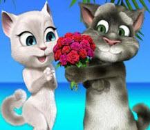 Кот Том Любит Анжелу