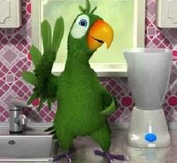 Говорящий Попугай Пьер