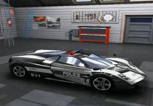 Полиция Дубая гонки на суперкарах
