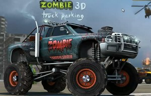 Парковка зомби грузовика 3Д