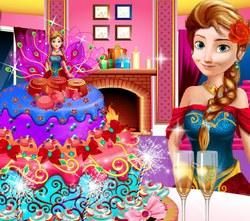 Свадебный торт Анны