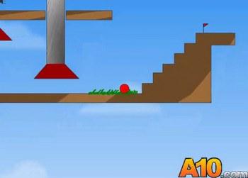Игры онлайн красный шар 1