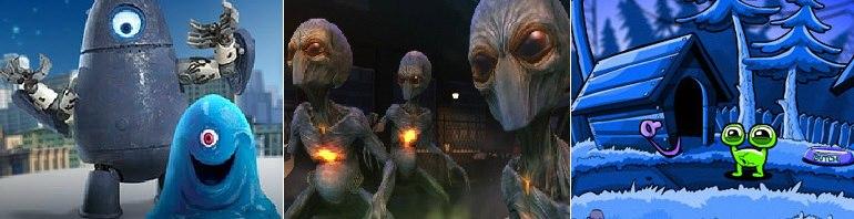 Игры пришельцы